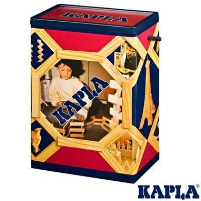 Kapla baril de 200 planchettes Naturel jeu de construction pour Enfant 3 ans +. - Autres jeux de construction