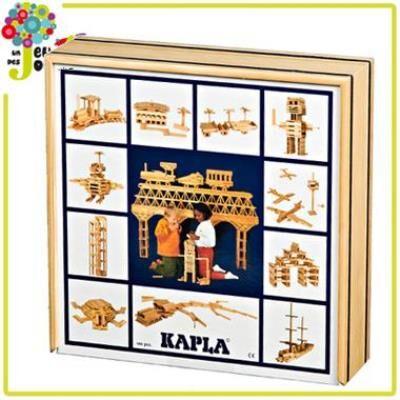 Kapla boîte 100 pièces Jeu de construction Planchette naturel Enfant 4 ans +. - Autres jeux de construction