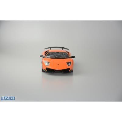 rayline voiture radiocommandée lamborghini murciélago lp670 sv orange 1-14 - voiture radio commandé