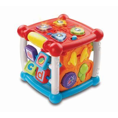 VTech Baby - Turn & Learn Cube - Baby Cube d'Eveil Version Anglaise - Jeu junior
