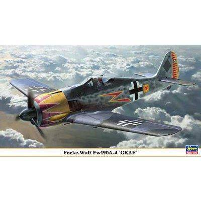 Hasegawa - Maquette avion: FW 190A-4 GRAF - Maquette