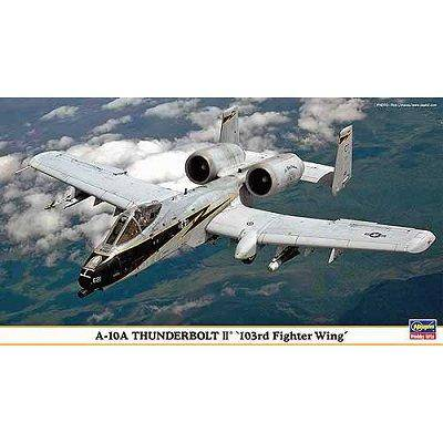 Hasegawa - Maquette avion: A-10A 103RD Fighter Wing - Maquette