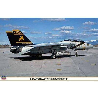 Hasegawa - Maquette avion: F-14A Tomcat VF-213 Blacklions - Maquette