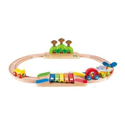 Hape Toys Ensemble de train Hape My Little Railway - Autre circuit / véhicule
