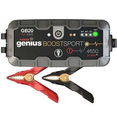 noco gb20 genius ultrasafe démarreur/chargeur de batterie lithium - 12 v, 400 amp - voiture