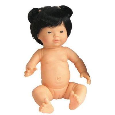 NC Poupee fille, asiatique avec des cheveux - Poupée