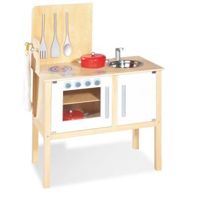 Pinolino - Cuisinière d'enfant Jette en bois pour jouer à la dinette - Autres jouets en bois