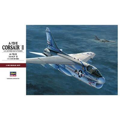 Hasegawa - Maquette avion: A-7D/E Corsair II - Maquette