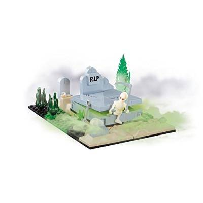 Cobi - 330338 - des monstres vs zombies - cimetière - avec brillant dans le chiffre noir - briques de construction per cobi - Autres jeux de construction