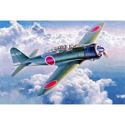Hasegawa - Maquette avion: 21ST Kokusho A6N2-K Zero Fighter - Maquette