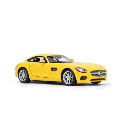 jamara voiture radiocommandée mercedes-amg gt jaune 1/14 easy-portes - voiture radio commandé