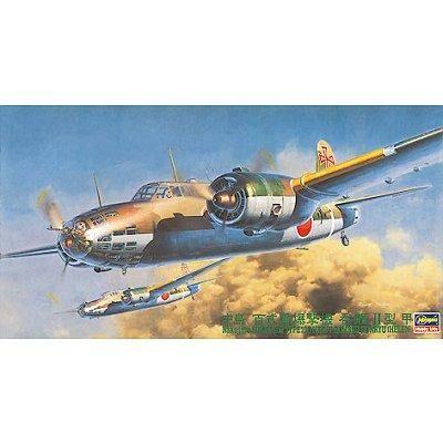 Hasegawa - Maquette avion: Nakajima Ki-49 II Kok Donryu - Maquette