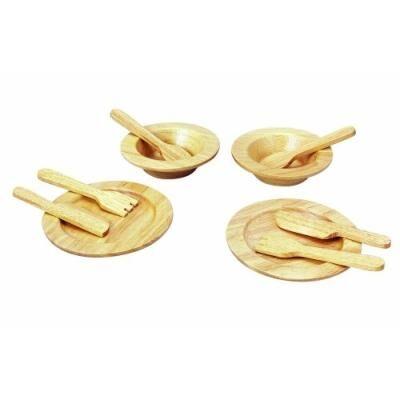 ASA Toys PLANTOYS - PT3414 - CUISINE ET MÉNAGE - ENSEMBLE DINETTE - Cuisine
