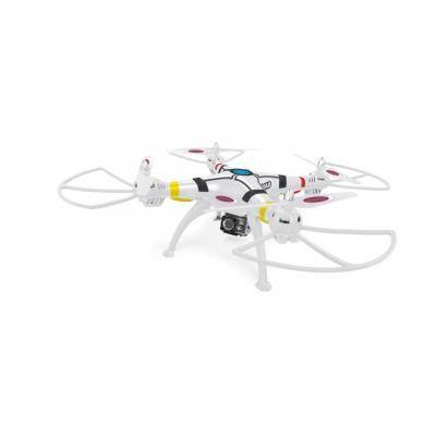 jamara drone radiocommandé payload ahp 2,4ghz avec système d'altimètre et caméra full hd wifi - hélicoptère radio commandé