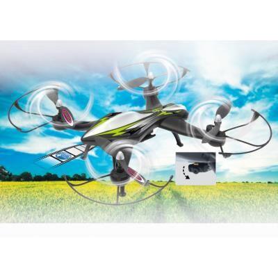 jamara drone radiocommandé f1x ahp 2,4ghz avec système d'altimètre et caméra hd 720p - hélicoptère radio commandé