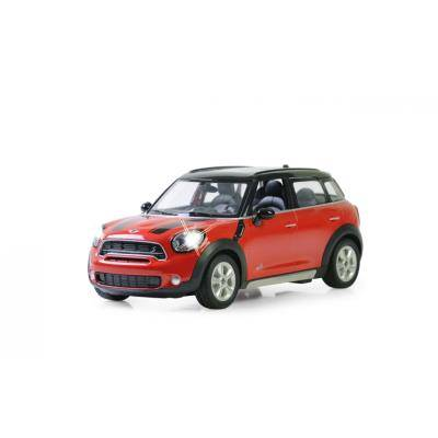 jamara voiture radiocommandée mini cooper rouge et noire 1:14 - voiture radio commandé