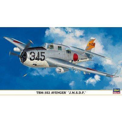 Hasegawa - Maquette avion: TBM-3S2 Avenger - Maquette
