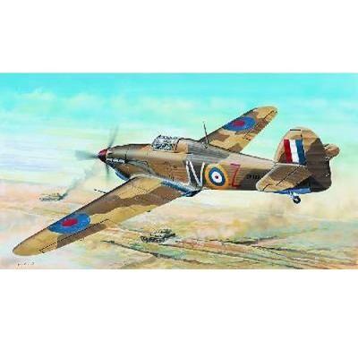 Trumpeter Maquette avion: Hawker Hurricane Mk.I Trumpeter - Maquette