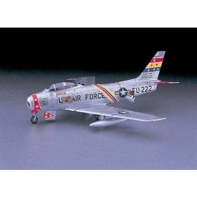 Hasegawa - Maquette avion: F-86F-30 Sabre USAF - Maquette