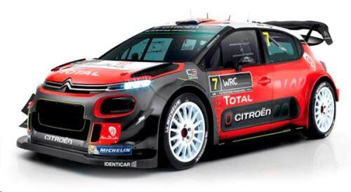 NINCO Voiture radiocommandée Ninco Citroën C3 WRC 1:10 - Voiture radio-commandée