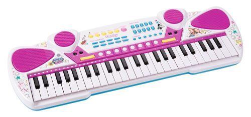 smby clavier électronique smoby maggie et bianca - kit loisir créatif