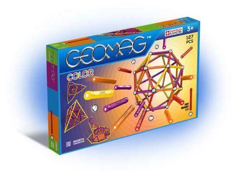 geom jeux de construction geomag color 127 pièces - autre jeu de construction