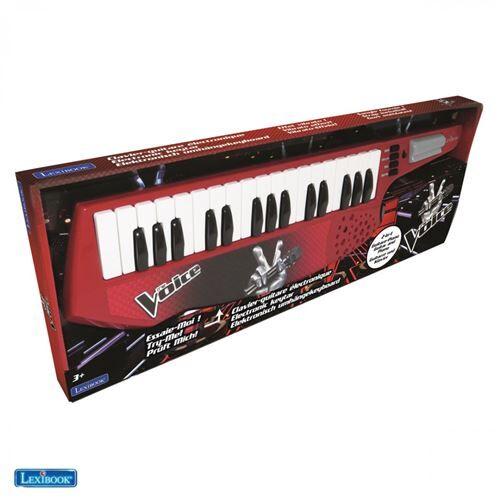 lexibook clavier guitare electronique lexibook the voice - jouet musical