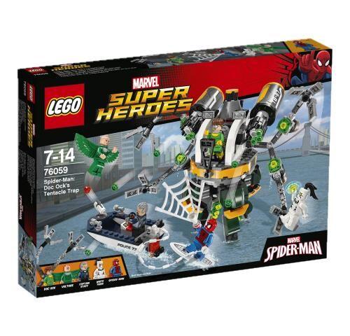 LSUP LEGO® Marvel Super Heroes 76059 Spider-Man : Le piège à tentacules de Doc Ock - Lego