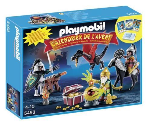 PLMB Playmobil 5493 Christmas Calendrier de l'Avent dragon asiatique - Playmobil