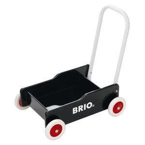 Brio 31351 Chariot De Marche Noir - Porteur bois