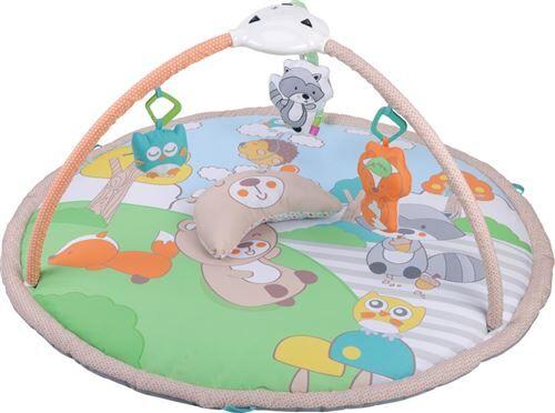 FOXIE   Tapis d'éveil interactif bébé   Dès la naissance   Projecteur étoiles&lune;   Lampe avec couleurs   Coussins   Jouets   multicolore - Tapis d'éveil
