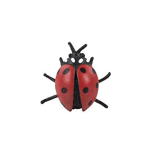 Safari Ltd. Good Luck Minis - Coccinelle - 192 pièces - Construction de qualité à partir de matériaux sans phtalate, sans plomb et sans BPA - Pour les 5 ans et plus - Autres figurines et répliques