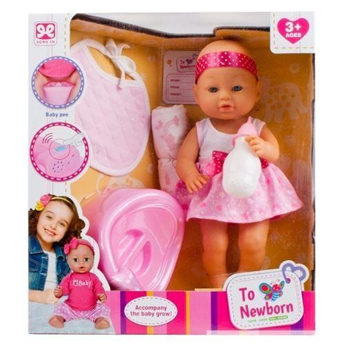 No Name boîte de poupée 37cm bébé + accessoires boîte de f - Cubes
