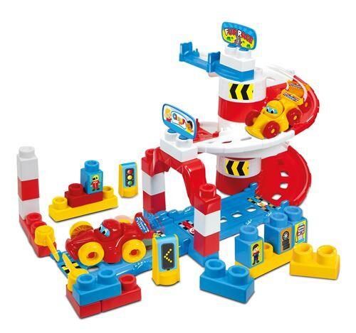 Clementoni hippodrome avec des blocs 42 pièces - Jeux d'éveil