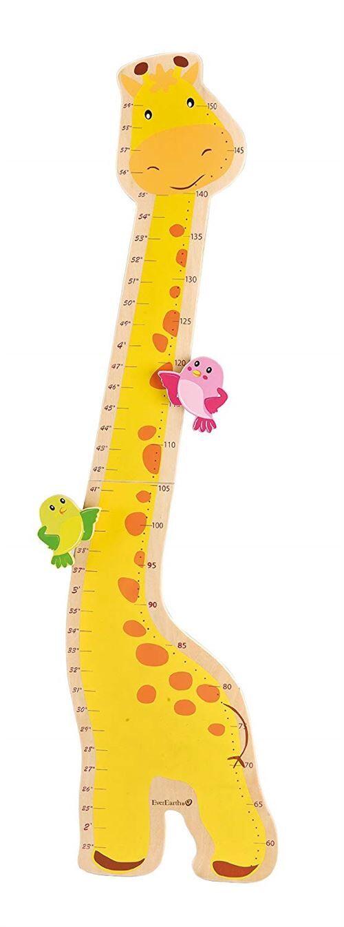 Everearth - Ee33505 - Ameublement Et Décoration - Toise Girafe - Toise