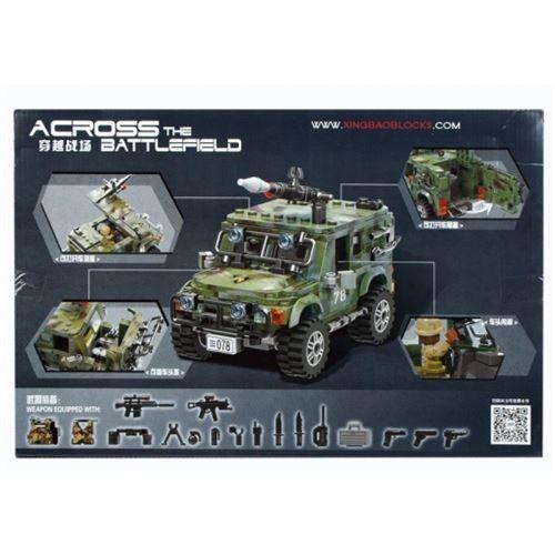 No Name blocs de construction 497el 47x31x6 army pud 3 - Cubes