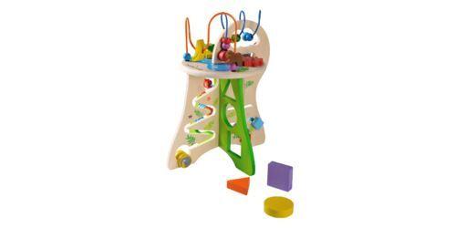 Everearth Table D'Activité Safari - Jouet En Bois Everearth - Autres jouets en bois