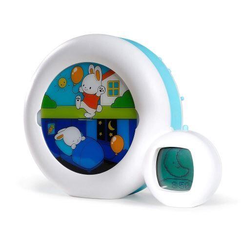 Non communiqué Claessens' Kid - Moon 3 en 1 (veilleuse, indicateur & réveil) - Reveil Musical Enfant Educatif Jour/Nuit Lumineux - Blanc - Veilleuses