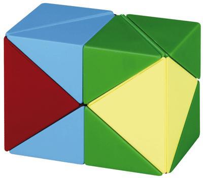 Non communiqué Cube Magnetique 3d, 4 Couleurs - Jeux d'éveil