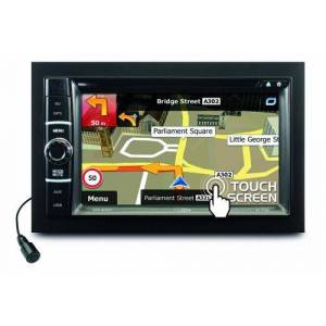 Caliber RDN802BT Lecteur DVD/USB/SD/AUX IN/BT/TOUCH/GPS/TMC Noir - Baladeur MP3 / MP4