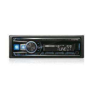 Alpine Autoradio UTE-92BT avec Bluetooth et prise jack en façade - Voiture