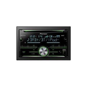 Pioneer FH-X840DAB Bluetooth Noir récepteur multimédia de voiture - Récepteurs multimédias de voiture (AM,DAB,DAB+,FM, 1,5 lignes, LCD, 210 000 couleurs, Noir, AAC,FLAC,MP3,WAV,WMA) - Voiture