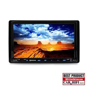 auna DVA72BT Autoradio multimédia Ecran 18cm lecteur DVD - Radio