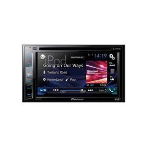 Pioneer avh-x2600bt x490dab 15,8 cm (6,2 pouces) Écran tactile Récepteur multimédia avec Bluetooth, CD/DVD, usb et Aux-in et sortie vidéo Noir - Voiture