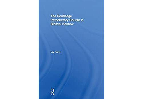 Pas de marque The Routledge Introductory Course in Biblical Hebrew (English Edition) Format Kindle - eBook