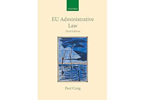 Pas de marque EU Administrative Law (Collected Courses of the Academy of European Law) (English Edition) Format Kindle - eBook