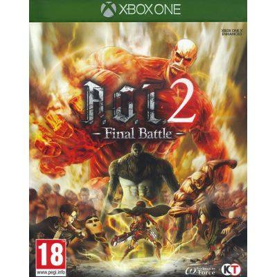 Attack on Titan 2 - Final Battle (BOX UK) - Xbox One