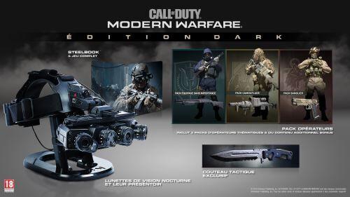 Avis Call of Duty Modern Warfare Edition Dark PS4 - PlayStation 4