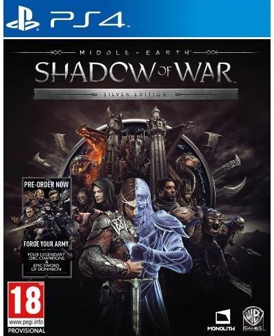 Pre-Order   Shadow Of War Silver Mix Ps4   Livraison à partir de 10/10/2017 - PlayStation 4
