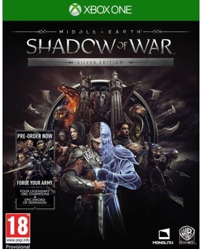 Pre-Order   Shadow Of War Silver Mix Xone   Livraison à partir de 10/10/2017 - Xbox